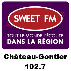 Radio Sweet FM - Château-Gontier 102.7