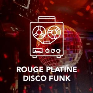 Radio ROUGE PLATINE DISCO FUNK