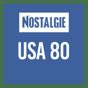 Radio NOSTALGIE USA 80